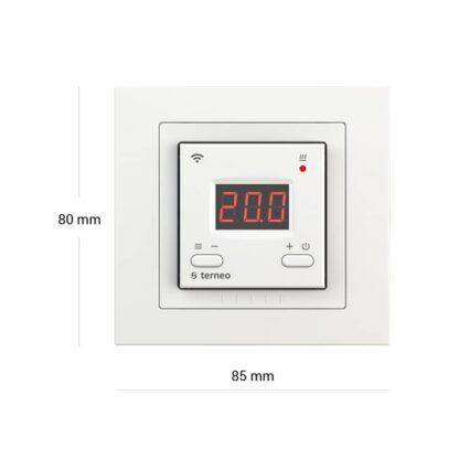 Terneo AX termostat naścienny na WiFi (16A)