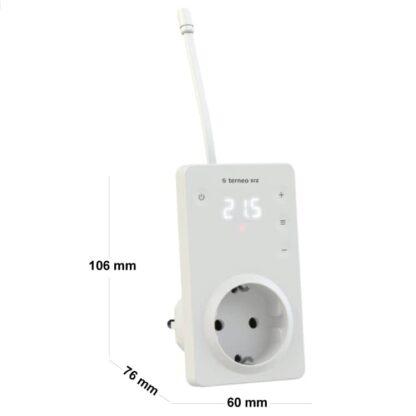 Terneo SRZ termostat gniazdkowy (16A)