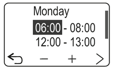 Programowanie godziny pracy